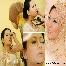 Pelamin, make-up, make up