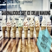 Sabrinalicious Soft Ice Cream Manjung