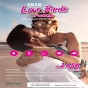 Pakej Honeymoon 3 Hari 2 Malam @ Pulau Tioman