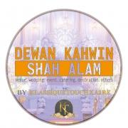Dewan Perkahwinan Lengkap Shah Alam