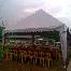 kanopi, khemah, meja pengantin, door gift