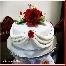 kek, fondant, coklat, cupcake, buttercream, door gift