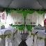 kanopi,hiasan meja pengantin dan katering