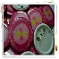 button badges, cenderahati, candy buffet, thank you card, stickers