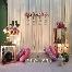 pelamin , photobooth, hantaran, nikah, kahwin, makan beradap, fresh flowers, hantaran