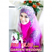 Garden Wedding, Laman Pengantin, Pelamin, kanopi, canopy, cameraman, andaman , kad kahwin , katering , wedding planner