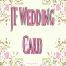 Jf Wedding Card