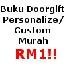 Buku Doorgift Murah Rm1