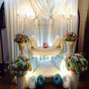 pelamin murah, garden wedding, fotografi, photobooth, candybooth, katering, solekan,