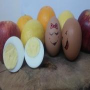 Telur rebus, telur,penghantaran telur rebus