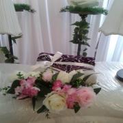 fresh,bunga segar,pelamin,deko,hiasan