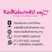 kadkahwin,thank you tag,bunting,banner,backdrop,paper bags,gift box,guestbook,handfan,mug,keychain dll