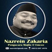 Nazrein:  Pengacara Majlis / Professional Emcee Untuk Majlis Perkahwinan & Acara Lain