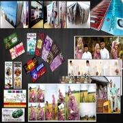 Kad kahwin, bunting, banner, custom album