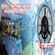 kipas, kipas air, kipas kanopi, mist fan, kipas pelamin, kanopi, outdoor, air cooler, canopy, kipas-air,