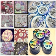 Sticker Kahwin, Sticker Makanan, Doorgift Sticker,