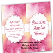 Surah Yasin & Buku Doa Amalan Harian Custom Design