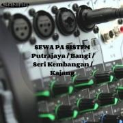 Sewa Pa Sistem Putrajaya/bangi/seri Kembangan/kajang