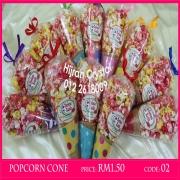 hijrah crystal, gula kapas hijrah, popcorn hijrah, gula kapas cone, goodies, doorgift