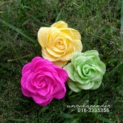 Bunga telur, bunga pahar, doorgift, bunga telur rose, bunga crepe