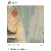 Handbouque, bunga tangan, veil,