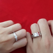Cincin Silver Tulen Nimy Collection
