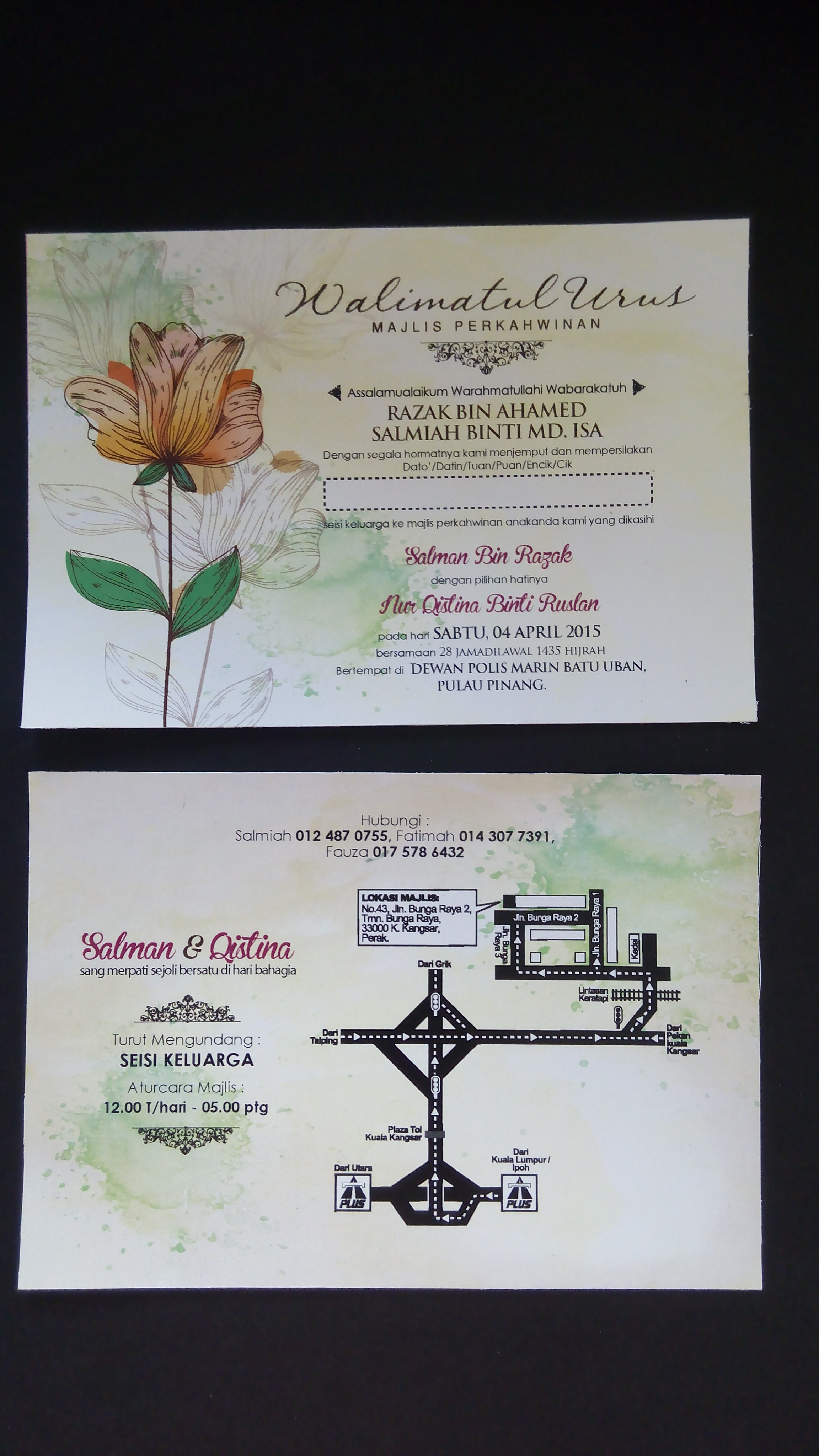 Kadkahwin Penang Kad Kahwin Di Georgetown Pulau Pinang