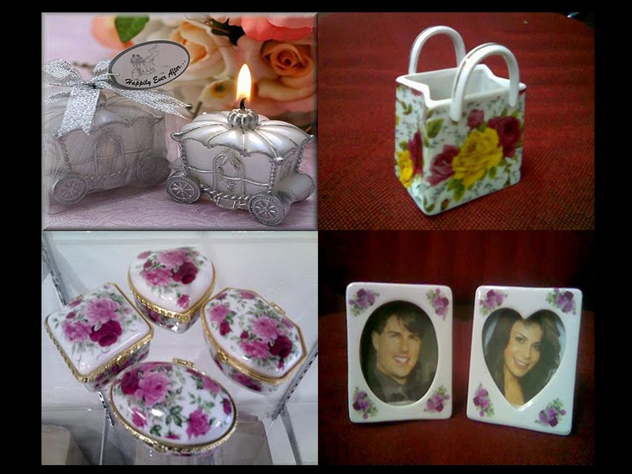 Cute Wedding Gift: Cenderahati Dan Aksesori Di