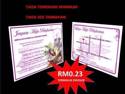 Kad Kahwin Ekonomi Kad Kahwin Di Pahang Pahang