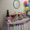 Candy Buffet & Baby Cradles By Aries Deco