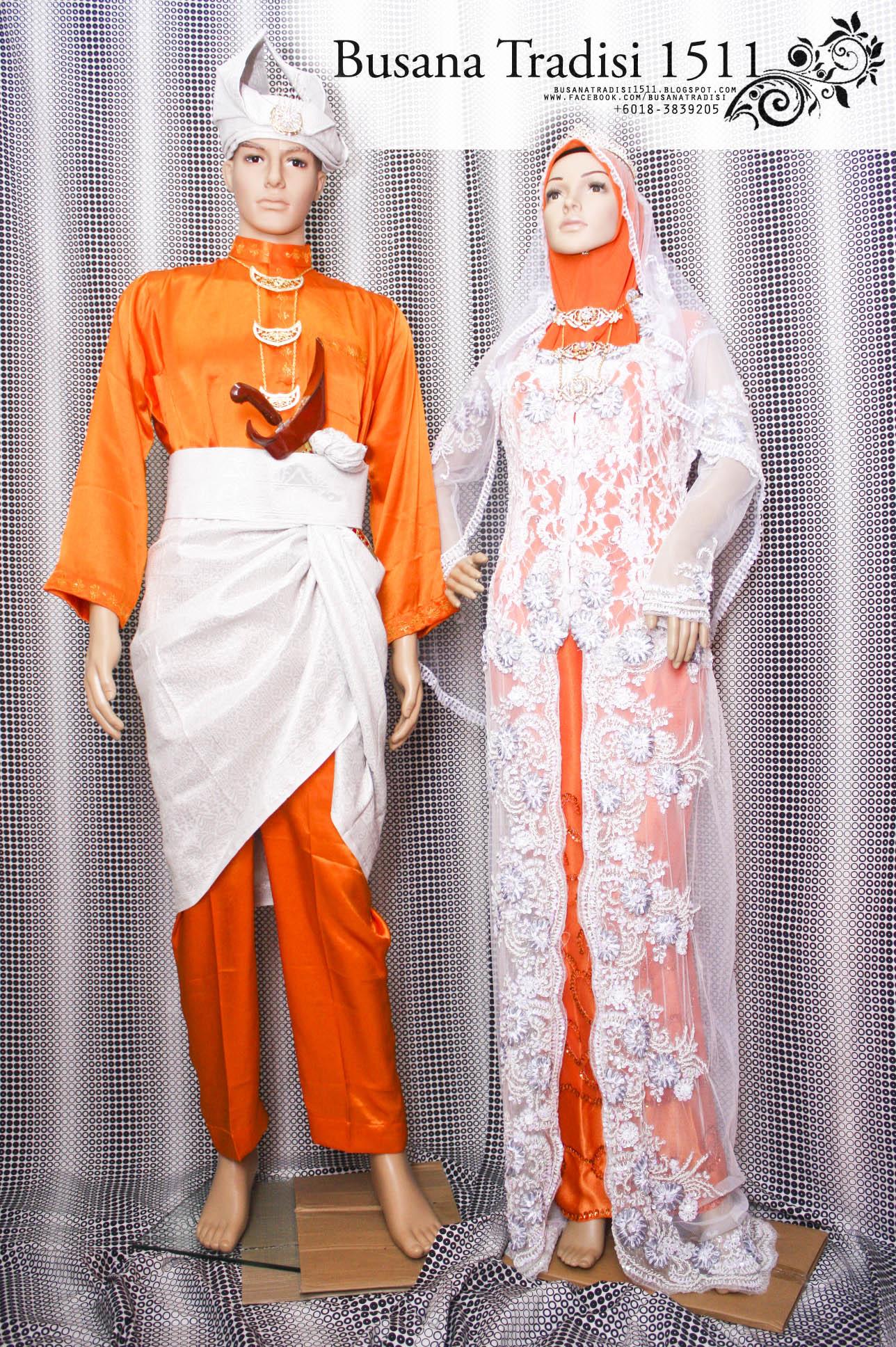 promosi sewa pakaian busana pengantin songket, lace, baju melayu