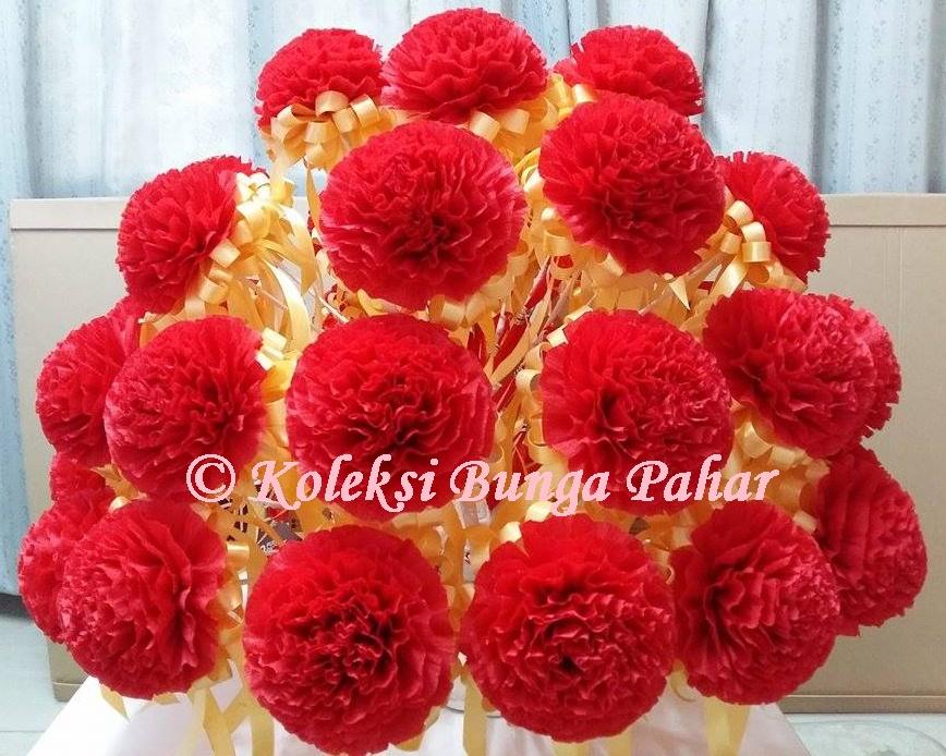 Koleksi Bunga Pahar - Gubahan Hantaran Dan Bunga di Cheras