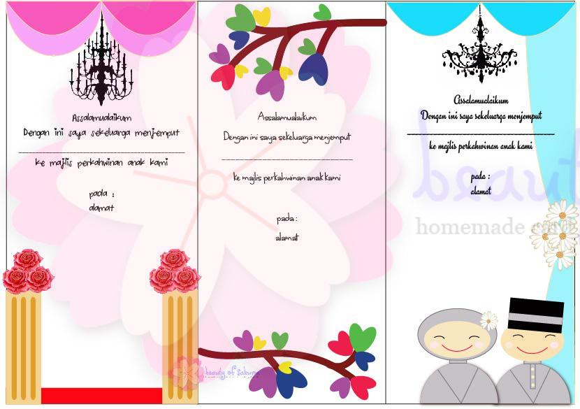 Beautyofsakura Kad Kahwin Di Ampang Selangor