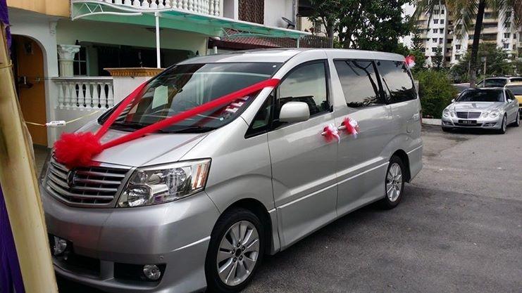Bridal Car Rental With Driver