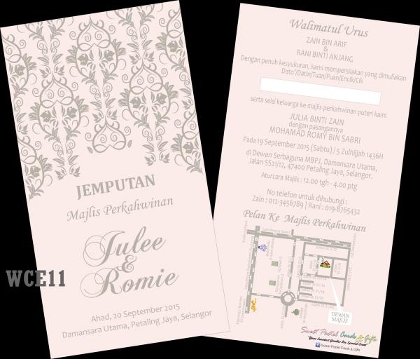 Sweet Pastel Cards And Gifts Kad Kahwin Di Petaling Jaya Selangor