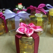 Doorgift Madu With Transparent Box