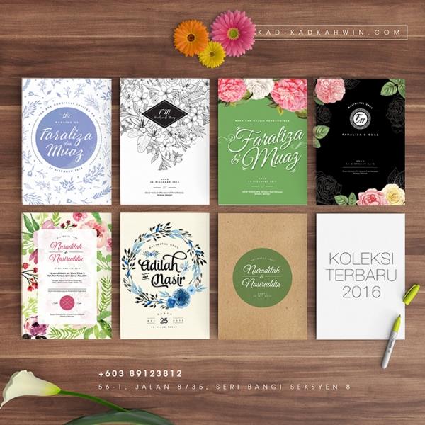 Dweet Card Kad Kahwin Di Bangi Selangor