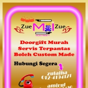 Doorgift Custom Idaman Hati